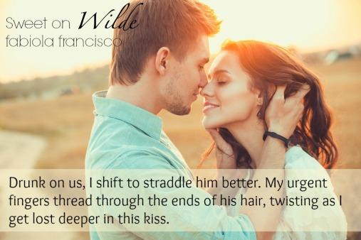 Sweet on Wilde kiss