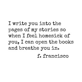 write you onto pages
